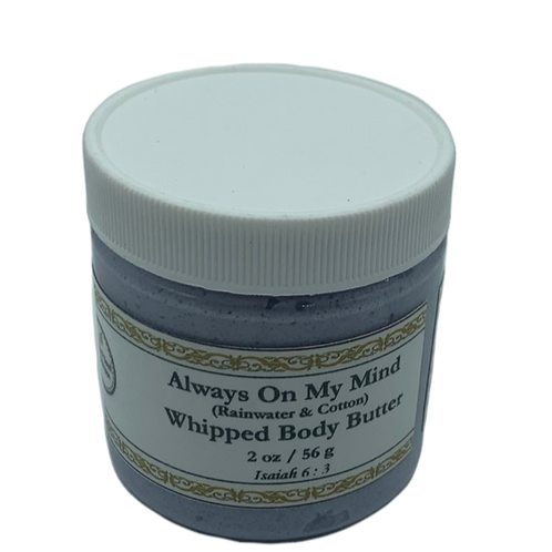 Always On My Mind Whipped Body Butter