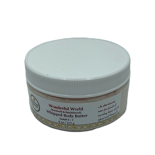Wonderful World Whipped Body Butter