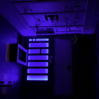 Video of sound activated LED bedroom lights