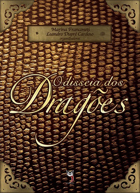 Odisseia dos Dragões - Livro Físico