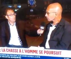ראיון עם פטריק לערוץ הצרפתי