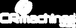 logotipo branco CR MACHINES VENDING