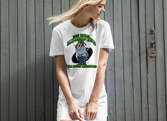 Classic BullyZ - The More MedicatedTheMoreDedicated  Organic Cotton T Dress