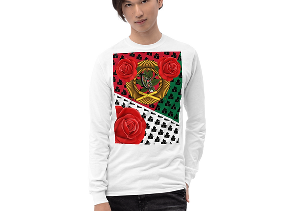 "Classic BullyZ "" Gold Rose"" Long Sleeve Shirt"