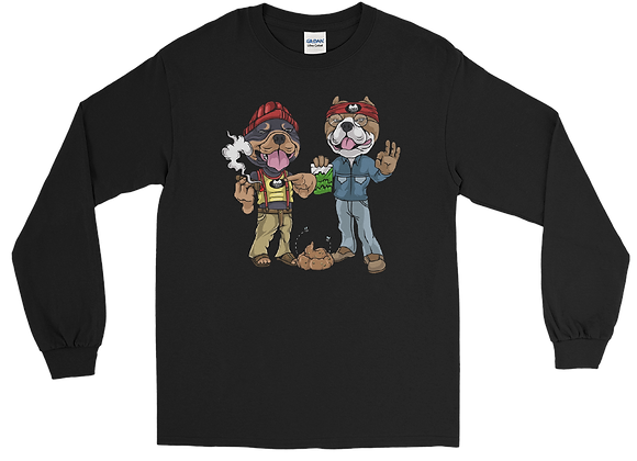 "Classic BullyZ ""Ralph & Herbie"" Long Sleeve Shirt"