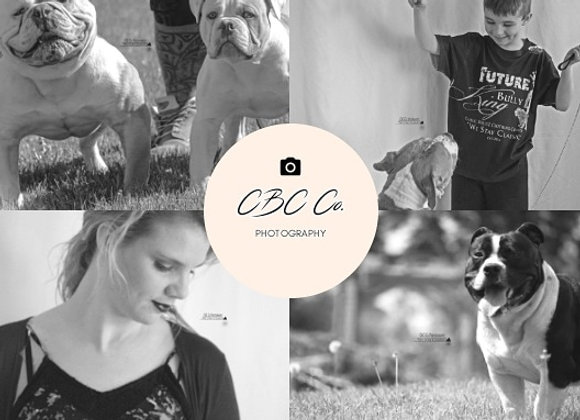 CBC Co. Photography Package C.