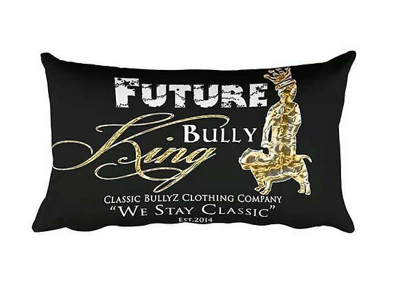 Classic BullyZ FUTURE BULLY KING THROW PILLOW