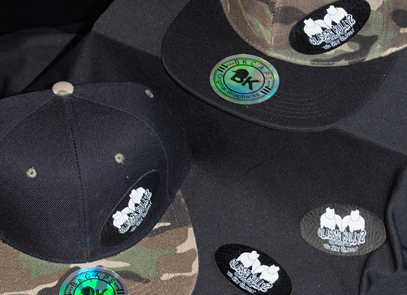Classic BullyZ Black-Camo Collection Snap Back Caps