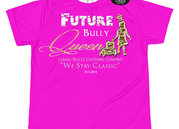 "Classic BullyZ ""Future BullyQueen  "" Youth T's"