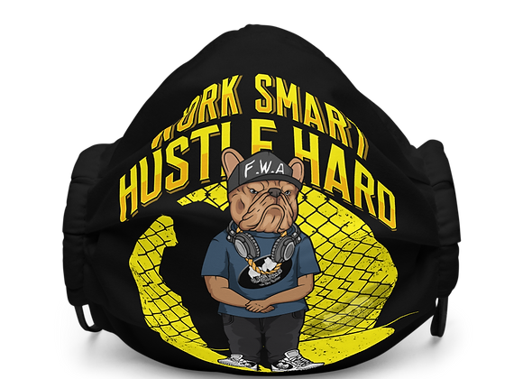 Classic BullyZ - WORK SMART HUSTLE HARD | Mask