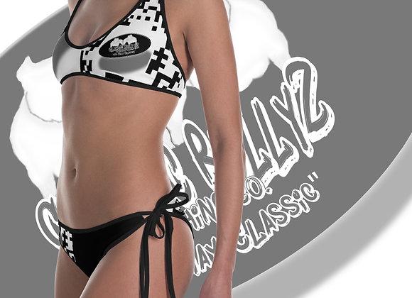 "Classic BullyZ ""QR Code-2018 House"" Reversable Bikini"