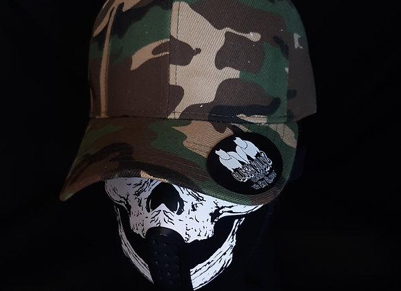 Classic BullyZ Camo & Black Mid Profile Caps