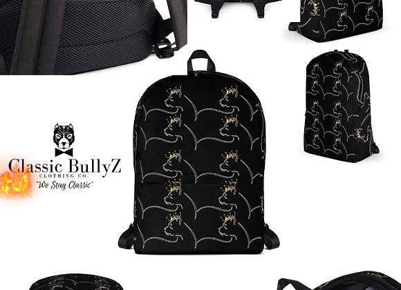 "Classic BullyZ""Crown'D Bully"" Backpacks"