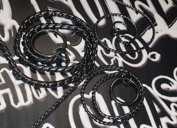 2.0mm Black Nickel Show Chain