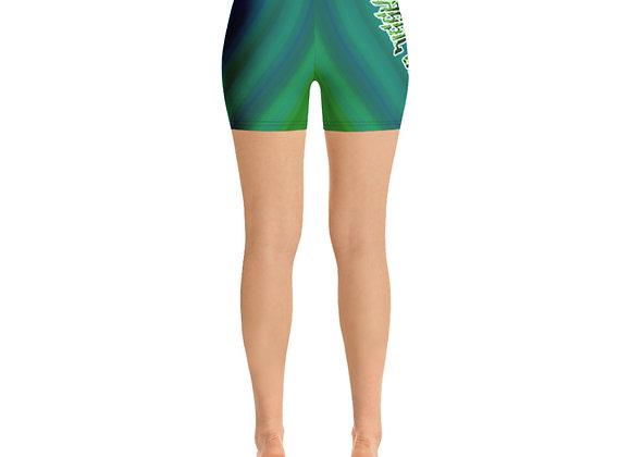 "Classic BullyZ ""Land & Water Tie Dye"" Ladies Shorts"