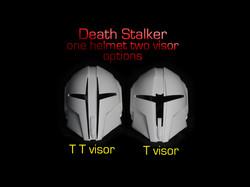 Death Stalker TT Visor
