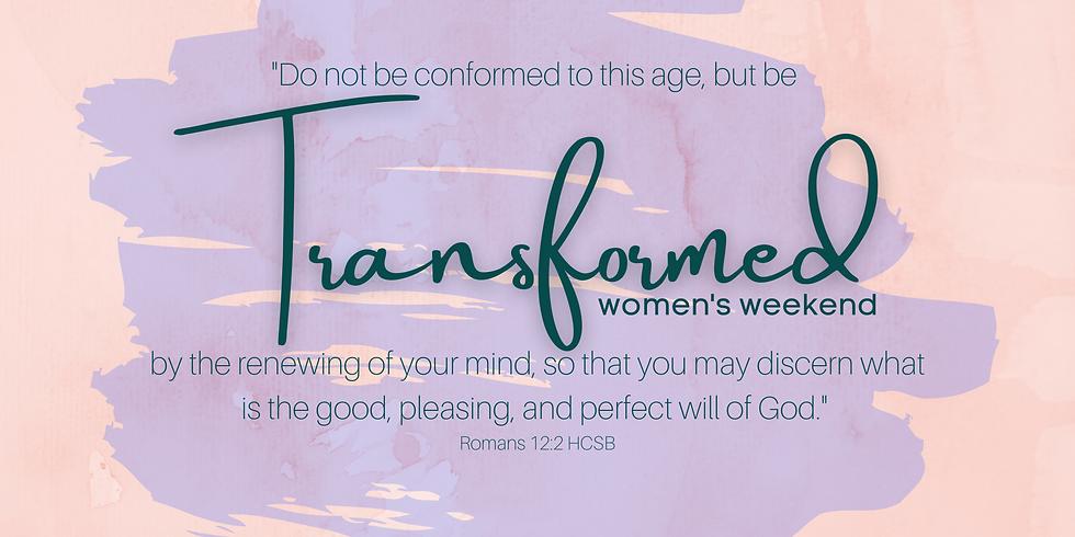 Transformed Women's Weekend