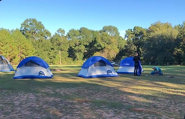 Tent Camping in the Rec Field