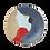 Thumbnail: Ferm living - Ceramic platter Tala