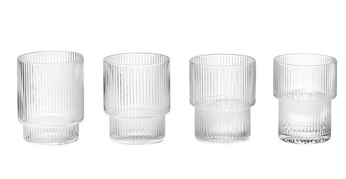 Ferm living - Ripple bicchieri