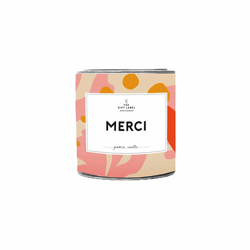 The gift label - candele