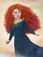 Принцесса Мерида из мультфильма «Храбрая