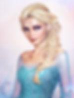 Эльза из мультфильма «Холодное сердце».