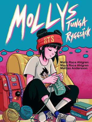 Mollys tunga ryggsäck