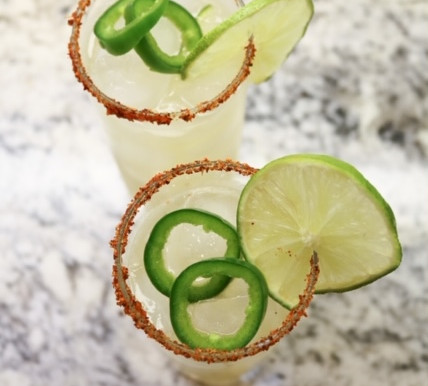 COCKTAIL RECIPES | THE PERFECT SPICY MARG