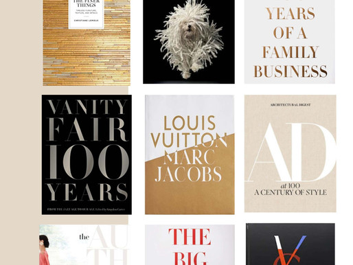 STYLING | COFFEE TABLE BOOKS