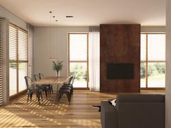 loft - obývací část 2