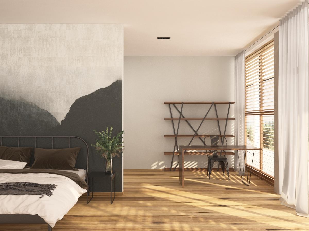 loft - ložnice 2