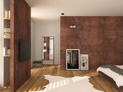 loft - ložnice 3
