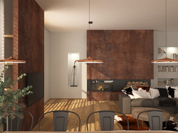 loft - obývací část 1