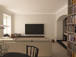 návrh obývací části 1