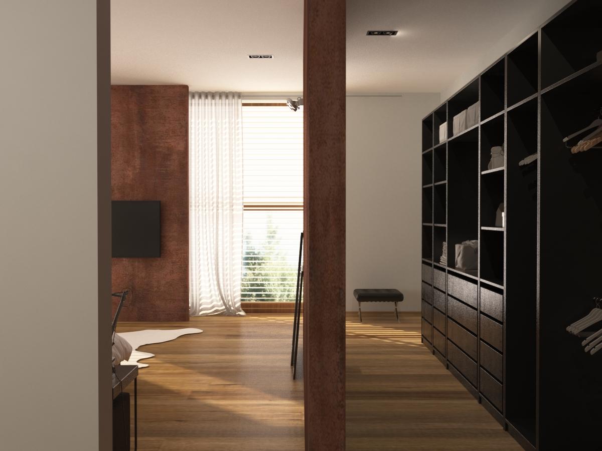 loft - ložnice 5