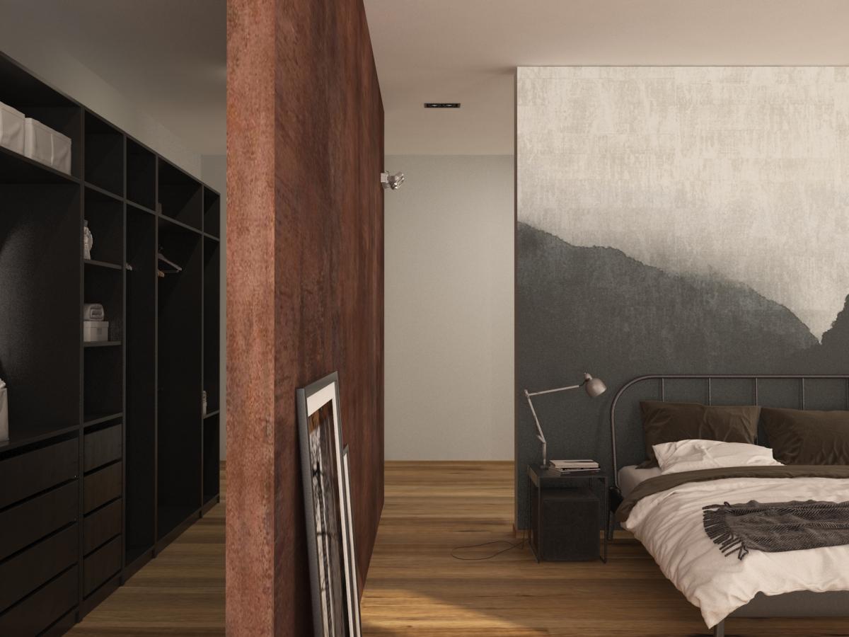 loft - ložnice 1