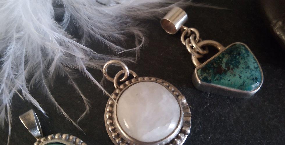 Semiprecious Gemstone Pendants