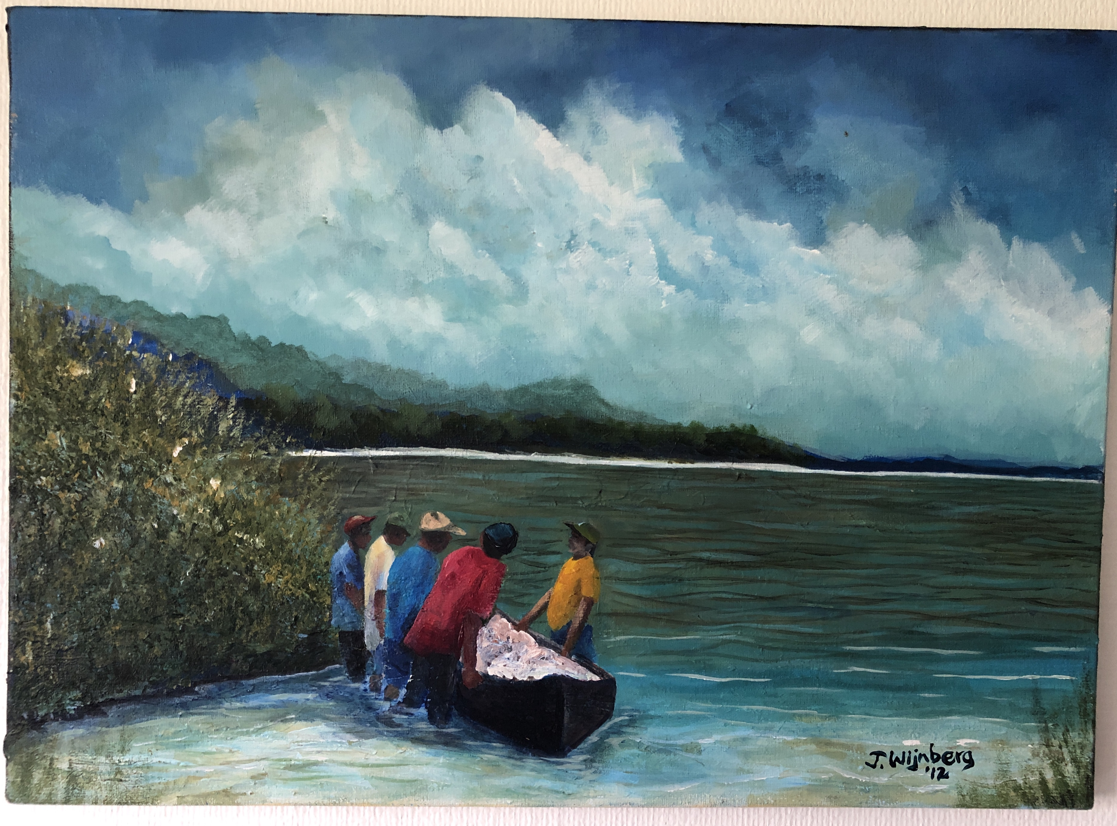 Fisherman Gabon