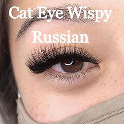 Cat Eye Wispy Eyelash