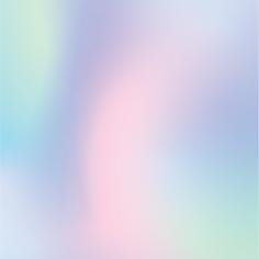 Pastel Gradient Heart Illustration Valen