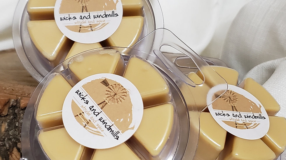 Strudel & Spice - Hand Poured Soy Based Wax Melts, 2.5 oz.