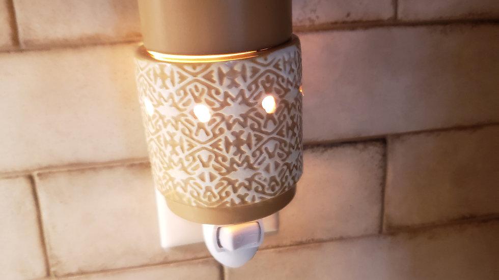 White Terracotta, Pluggable Fragrance warmer