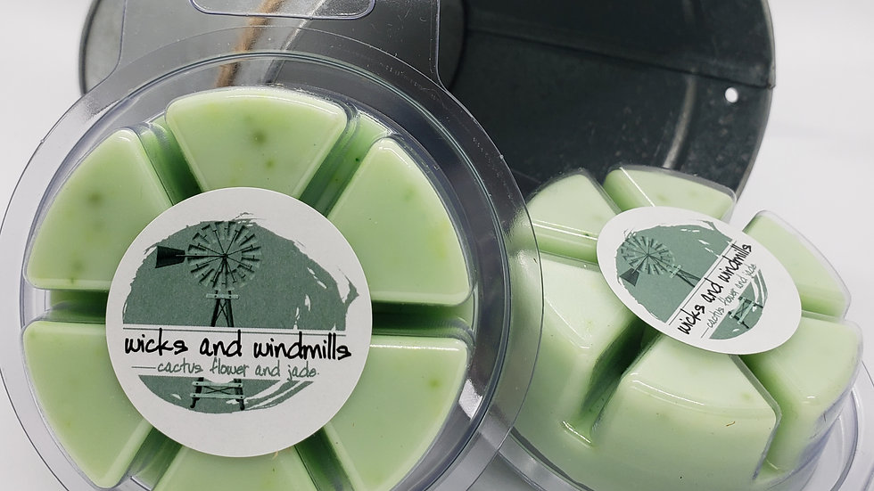 Cactus Flower & Jade Fragrance | Hand Poured Soy Blend Wax Melts