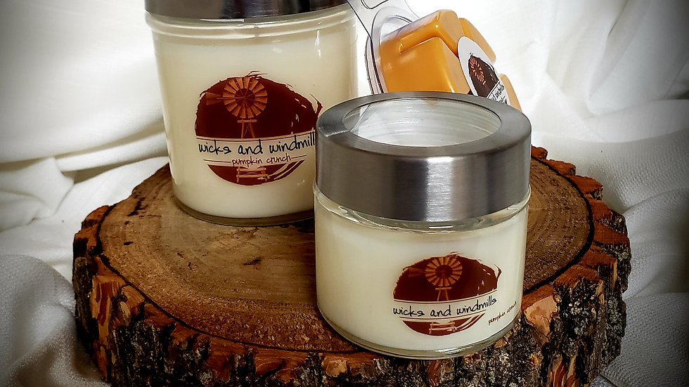 Pumpkin Crunch - Hand Poured Soy Based Candles