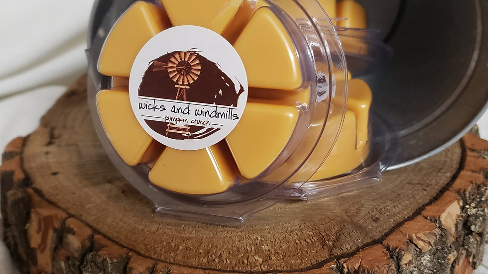 Pumpkin Crunch - Hand Poured Soy Based Wax Melts, 2.5 oz.