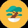 Icon of a bonsai