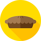 Icon of a pie