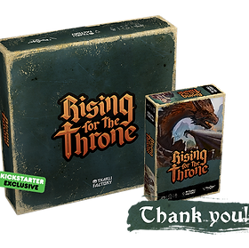 Box of the game Rising for the Thron