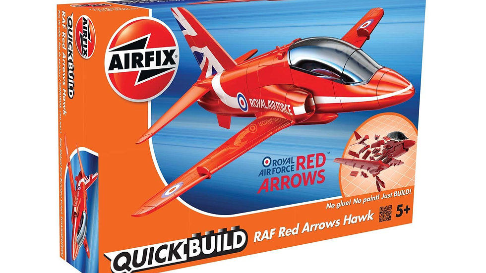 Airfix Quickbuild Red Arrows Plastic Model Kit
